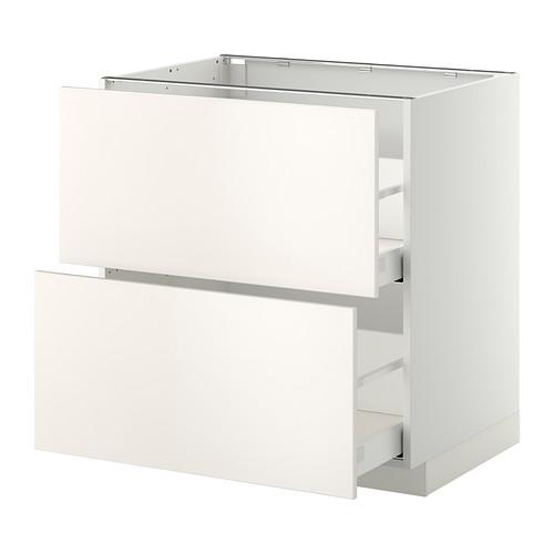 METOD - 廚櫃組合, 白色 Maximera/Veddinge 白色 | IKEA 香港及澳門 - PE332838_S4