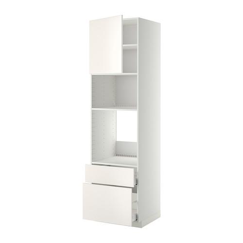 METOD/MAXIMERA - high cab f oven/micro w dr/2 drwrs, white/Veddinge white | IKEA Hong Kong and Macau - PE332911_S4