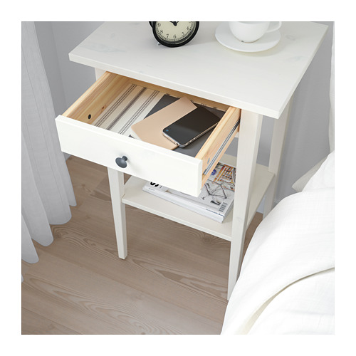 HEMNES - 床頭几, 染白   IKEA 香港及澳門 - PE670722_S4