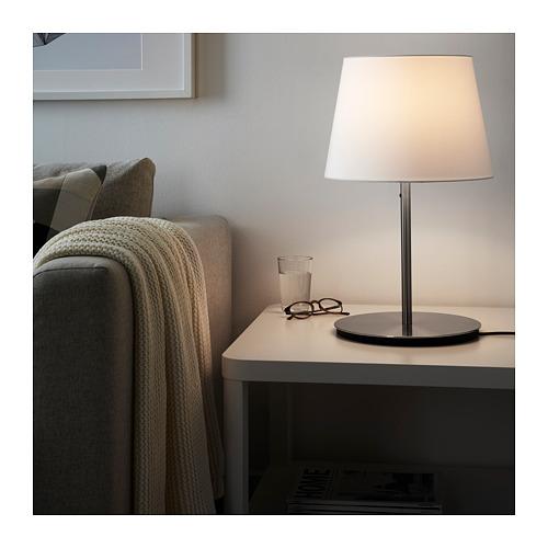 SKAFTET - table lamp base, nickel-plated | IKEA Hong Kong and Macau - PE720452_S4