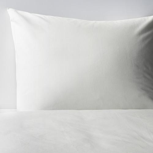 DVALA - 被套連2個枕袋, 白色, 200x200/50x80 cm  | IKEA 香港及澳門 - PE569834_S4