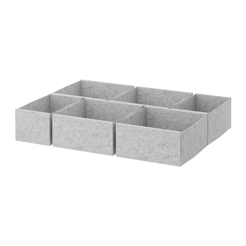 KOMPLEMENT box, set of 6