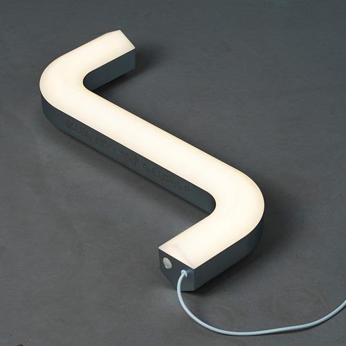 IKEA ART EVENT 2021 - LED座檯燈, 六角扳手形 銀色/usb   IKEA 香港及澳門 - PE816307_S4