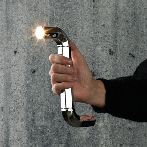 IKEA ART EVENT 2021 - LED torch, allen key shaped silver-colour | IKEA Hong Kong and Macau - PE816310_S4