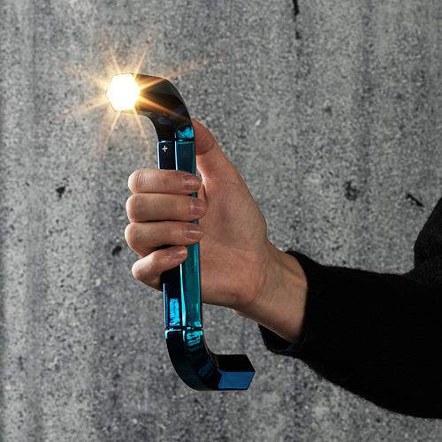 IKEA ART EVENT 2021 - LED torch, allen key shaped blue | IKEA Hong Kong and Macau - PE816312_S4