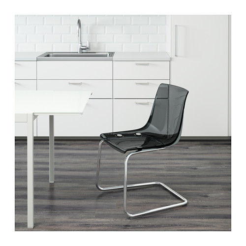 TOBIAS - 椅子, 灰色/鍍鉻 | IKEA 香港及澳門 - PE620328_S4