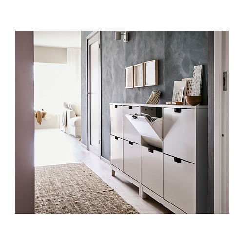 STÄLL - shoe cabinet with 4 compartments, white | IKEA Hong Kong and Macau - PH152616_S4