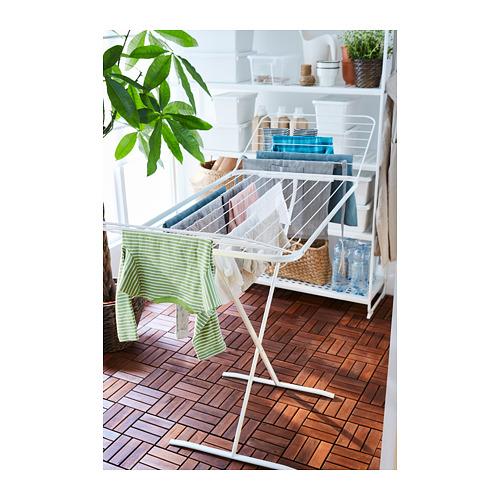 MULIG - drying rack, in/outdoor, white   IKEA Hong Kong and Macau - PH151078_S4