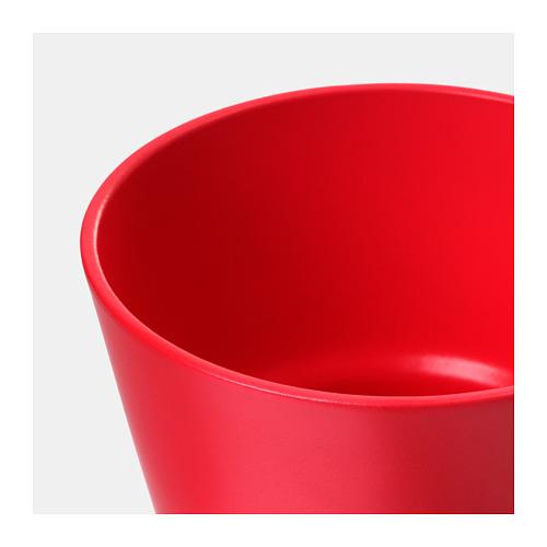 PAPAJA - 花盆, 紅色   IKEA 香港及澳門 - PE720694_S4