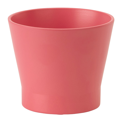 PAPAJA - 花盆, 紅色   IKEA 香港及澳門 - PE720696_S4
