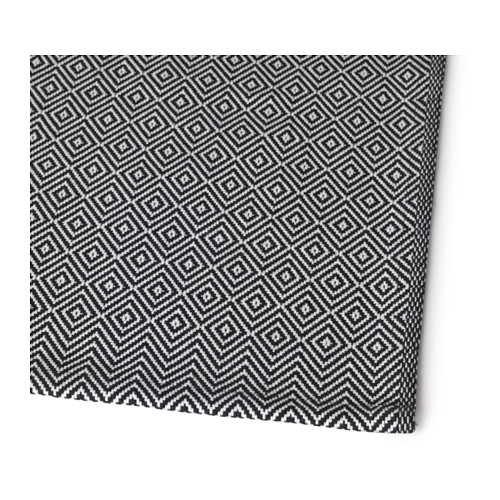 GODDAG - 裝飾用檯布, 黑色/白色 | IKEA 香港及澳門 - PE620372_S4