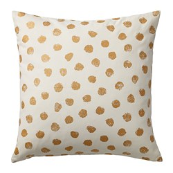 SKÄGGÖRT - cushion cover, white/gold-colour | IKEA Hong Kong and Macau - PE670778_S3