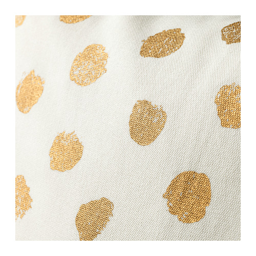 SKÄGGÖRT - cushion cover, white/gold-colour | IKEA Hong Kong and Macau - PE670780_S4