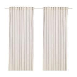 HANNALILL - 窗簾,一對, 米黃色 | IKEA 香港及澳門 - PE670812_S3