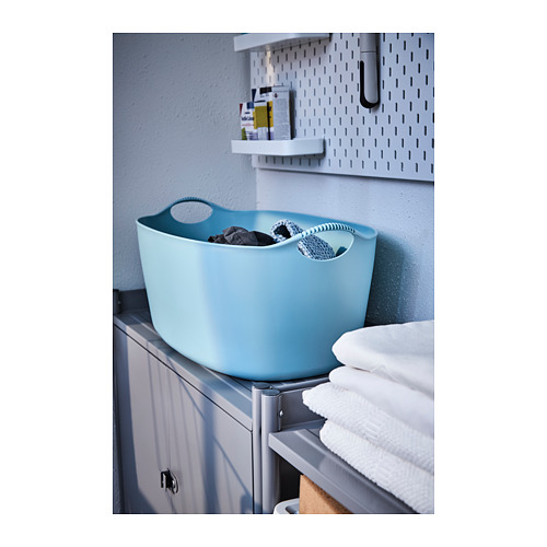 TORKIS - flexi laundry basket, in-/outdoor, blue | IKEA Hong Kong and Macau - PH141988_S4