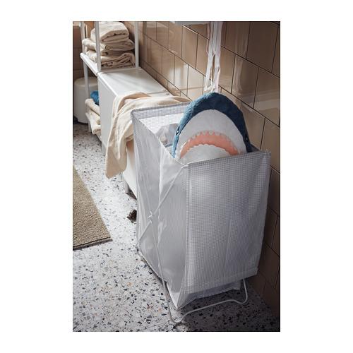 TORKIS - laundry basket, white/grey   IKEA Hong Kong and Macau - PH151557_S4