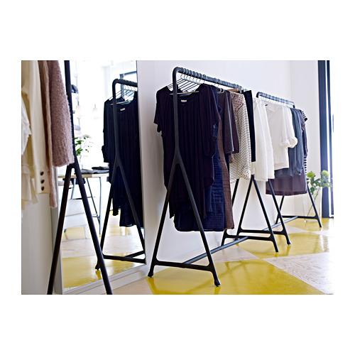 TURBO - 衣帽架, 室內/戶外用/黑色   IKEA 香港及澳門 - PE302004_S4