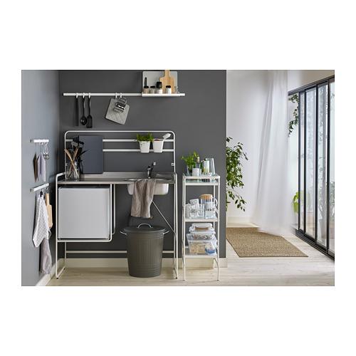 KNODD - bin with lid, grey | IKEA Hong Kong and Macau - PH152883_S4