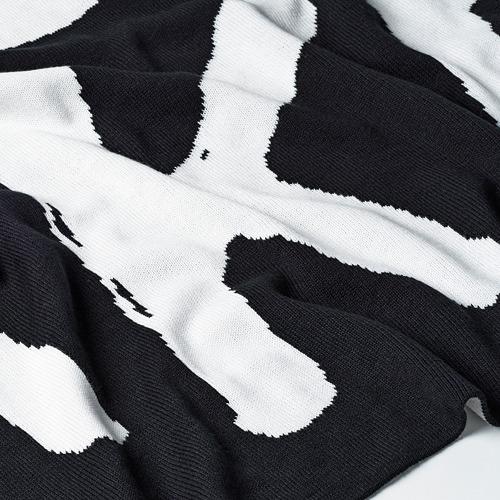 IKEA ART EVENT 2021 - 輕便暖氈, 黑色/白色 | IKEA 香港及澳門 - PE815723_S4