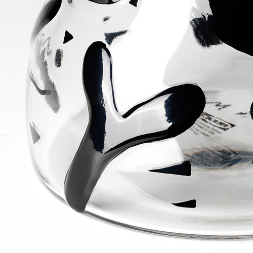 IKEA ART EVENT 2021 - 花瓶, 透明玻璃/黑色 | IKEA 香港及澳門 - PE815721_S4
