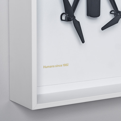 IKEA ART EVENT 2021 - wall decoration, drone motif white | IKEA Hong Kong and Macau - PE815722_S4