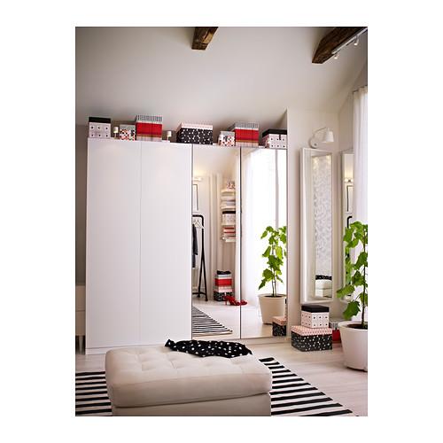 VIKEDAL - door with hinges, mirror glass | IKEA Hong Kong and Macau - PE361851_S4
