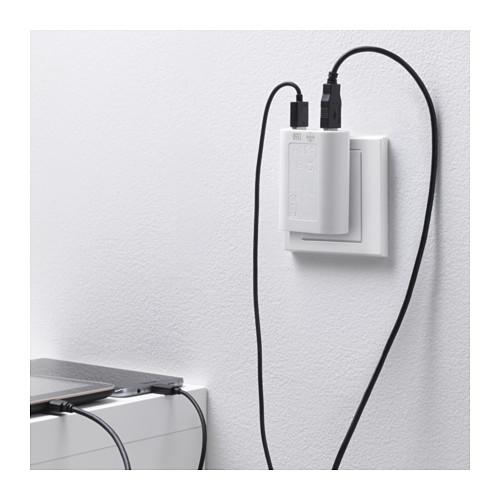KOPPLA 三個接口USB充電器
