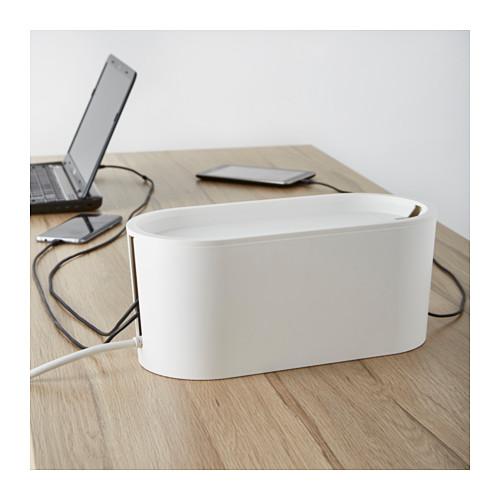 ROMMA - 電線整理盒連蓋, 白色 | IKEA 香港及澳門 - PE620484_S4