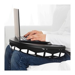 BYLLAN - 手提電腦座, Ebbarp 黑色/白色 | IKEA 香港及澳門 - PE670835_S3