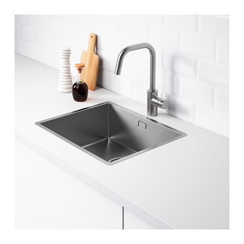 NORRSJÖN - inset sink, 1 bowl, stainless steel   IKEA Hong Kong and Macau - PE670918_S4