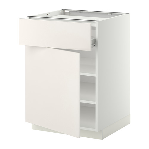 METOD base cab f hob/drawer/shelves/door
