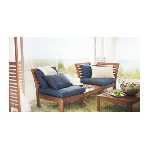 ÄPPLARÖ - corner section, outdoor, brown stained | IKEA Hong Kong and Macau - PE335268_S4