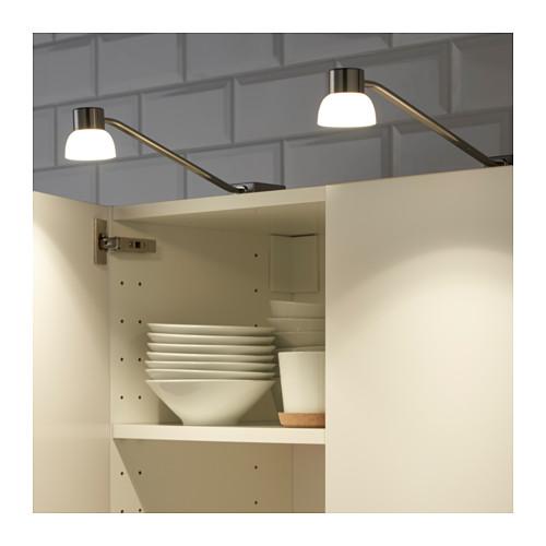 LINDSHULT - LED櫃燈, 鍍鎳 | IKEA 香港及澳門 - PE620620_S4