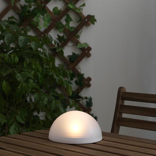 SOLVINDEN - 太陽能LED裝飾燈, 戶外/半球 白色 | IKEA 香港及澳門 - PE653750_S4