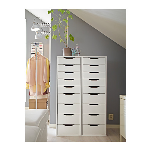 ALEX drawer unit with 9 drawers