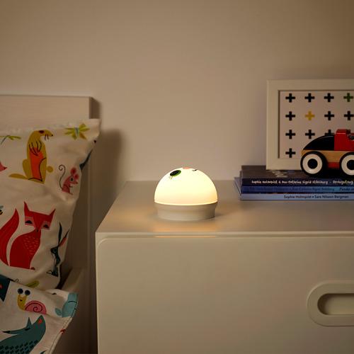 KORNSNÖ - LED夜燈, 白色/兔仔 電池操作   IKEA 香港及澳門 - PE761502_S4