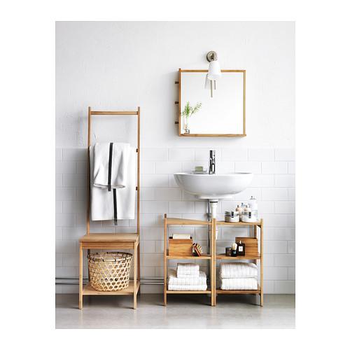 RÅGRUND - 洗手盆/角位層板, 竹   IKEA 香港及澳門 - PE376057_S4