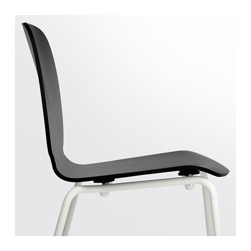 SVENBERTIL - 椅子, 黑色/Broringe 白色 | IKEA 香港及澳門 - PE620734_S4