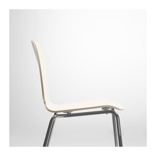 SVENBERTIL - chair, white/Broringe chrome-plated | IKEA Hong Kong and Macau - PE620737_S4
