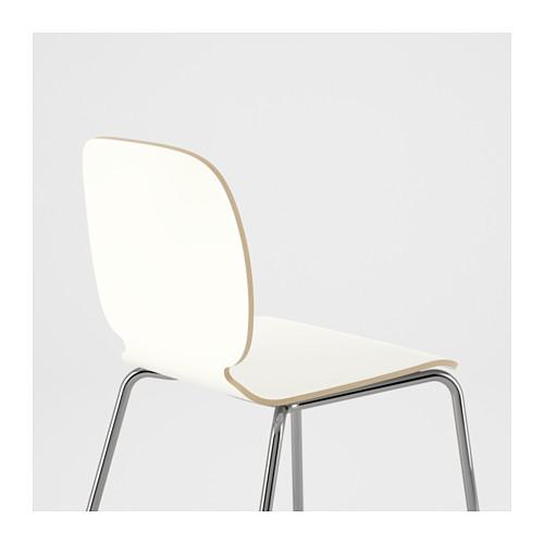 SVENBERTIL - chair, white/Broringe chrome-plated | IKEA Hong Kong and Macau - PE620758_S4