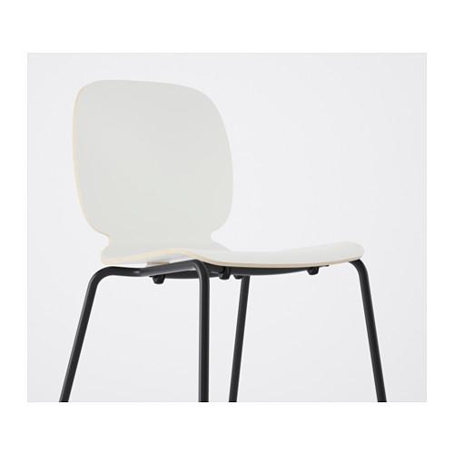 SVENBERTIL - 椅子, 白色/Broringe 黑色   IKEA 香港及澳門 - PE620779_S4