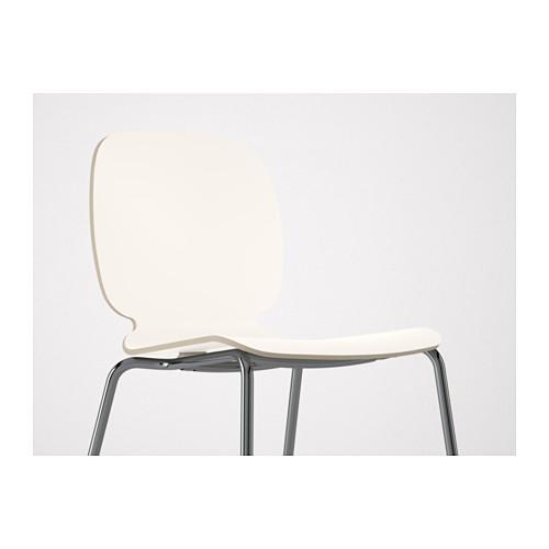 SVENBERTIL - chair, white/Broringe chrome-plated | IKEA Hong Kong and Macau - PE620771_S4