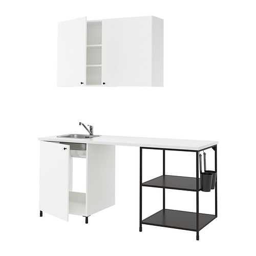 ENHET - 廚房, 炭黑色/白色 | IKEA 香港及澳門 - PE815963_S4