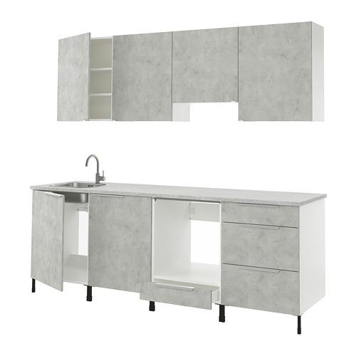 ENHET - 廚房, 仿混凝土   IKEA 香港及澳門 - PE815967_S4