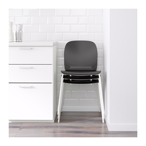 SVENBERTIL - 椅子, 黑色/Broringe 白色 | IKEA 香港及澳門 - PE620801_S4
