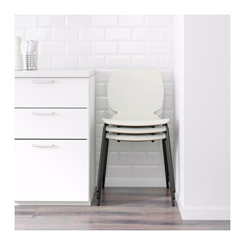 SVENBERTIL - 椅子, 白色/Broringe 黑色   IKEA 香港及澳門 - PE620800_S4
