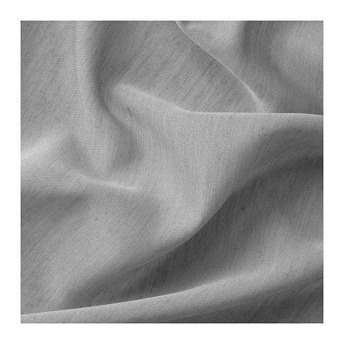 HILJA - 窗簾,一對, 灰色 | IKEA 香港及澳門 - PE671127_S4