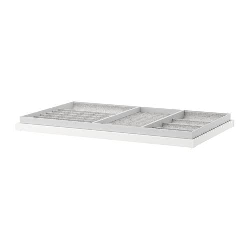 KOMPLEMENT - 拉出式底盤連間隔, 白色 | IKEA 香港及澳門 - PE671149_S4