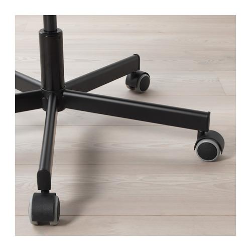 SKRUVSTA - 旋轉椅, Idhult 黑色 | IKEA 香港及澳門 - PE671177_S4