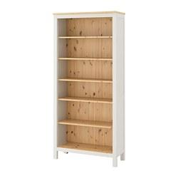 HEMNES - bookcase, white stain/light brown | IKEA Hong Kong and Macau - PE671189_S3